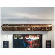 Scultura - Bronzo, fusione a cera persa - h 310x30x30 cm - 2005 - Collezione privata, Milano