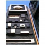Scultura per la sede della Provincia di Pordenone, Dettaglio- Bronzo, fusione a cera persa- h 400 cm- 1994