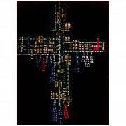 Croce in vetrocemento - h 600x450 cm- 1967
