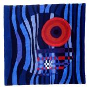 """Arazzo n.1 - Lavorazione """"hand tufting""""- h 150x150 cm- 1987"""