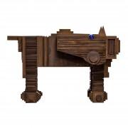 Cavallo di Troia-Acciaio Corten- h 125x100x199 cm- 2014