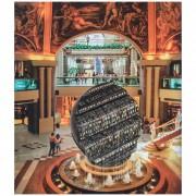 Mezza Sfera, fontana n.9- Bronzo, fusione a cera persa- Ø 400 cm- 2001