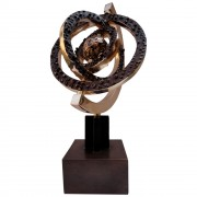 Astrolabe - Bronze, lost wax casting h 15 in - 1997