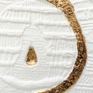 Resinografia n.33 - Pera Oro - Carta e oro - Dettaglio - 2011