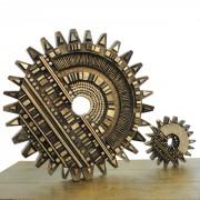 Ingranaggi - Bronzo, fusione a cera persa - ø 60 cm e ø 20 cm - 2003