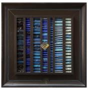 La Nascita del Sole n.0 - Mosaico di smalto vetroso su legno 44x44 cm - 1994