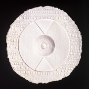 Resinografia n.7 - Il Sole Bianco - Carta fatta a mano - 50x50 cm - 2010