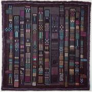 Venezia - Lavorazione a telaio, juta, lana, perle, seta - h 160x160 cm - 1993