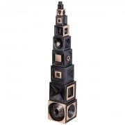 Torre di Babele - Bronzo, fusione a cera persa - h 53 cm - 1997