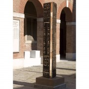 Torre n.3 - Bronzo, fusione a cera persa - h 250x45x45 cm - 2005