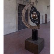 Astrolabio - Bronzo, fusione a cera persa - h 230 cm - 1997