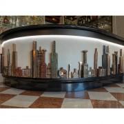 Serie di Bottiglie per il Bancone del Bar, Hotel Santa Chiara - Bronzo, fusione a cera persa - Venezia 2018