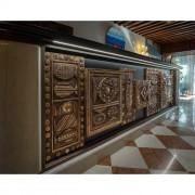 Pescherie per il Bancone della Reception, Hotel Santa Chiara - Bronzo, fusione a cera persa - Venezia 2018