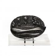 """""""Chicco di caffè grande n.4"""" - Bronzo ossidato nero, fusione a cera persa - 22x15 cm - 2014"""