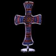 Croce - Murrine - 22x30 cm - Realizzata per SS. Papa Paolo VI - Musei Vaticani 1968