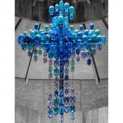 Cross - Blown glass, executed by La Murrina - h 157,6x189,12 in -  S.Giovanni Crisostomo Church, Milan 1967