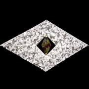 Elaboratore n.74 - Legno a più spessori, vetro di Murano - h 90x160 cm - 2003 - Nave Diamond Princess