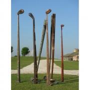 Mazze da Golf - Bronzo, fusione a cera persa - h da 180 a 225 cm - 2006