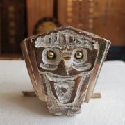 Gufo n.30 - Bronzo, fusione a cera persa - h 7,5 cm - 2017
