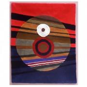 """Arazzo n.2 - Lavorazione """"Hand Tufting""""- h 120x140 cm - 1987"""