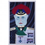Il Generale - Serigrafia - h 70x50 cm- 1980