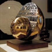 Maternità - Bronzo, fusione a cera persa - ø 60x55 cm - 1997