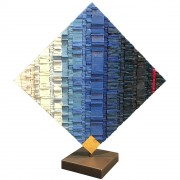La Nascita del Sole n.27 - Mosaico di smalto vetroso - 60x60 cm - 1999