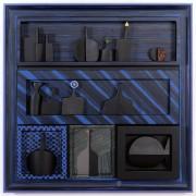 Omaggio a Morandi n.5 - Legno a più spessori, tempere, acrilici, colori a cera- 80x80 cm- 1991