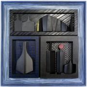 Omaggio a Morandi n.6 - Legno a più spessori, tempere, acrilici, colori a cera- 60x60 cm- 1991