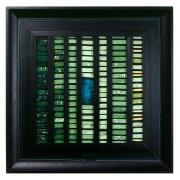 La nascita del sole n.1- Mosaico di smalto vetroso- h 43x43 cm- 1994