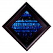 La nascita del sole n.12- Mosaico di smalto vetroso- h 44x44 cm- 1995