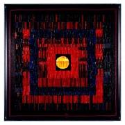 La nascita del sole n.16- Mosaico di smalto vetroso- h 105x105 cm- 1995