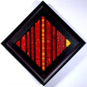 La nascita del sole n.8- Mosaico di smalto vetroso- h 44x44 cm- 1995