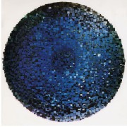 Elaboratore Rosone n.09 New York - Legno a più spessori, tempere. gessi, acrilici - ⌀ 200 cm- 1993 - Tribunale di Padova