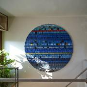 Sole Rosone n.15 - Mosaico di smalto vetroso - ⌀ 200 cm - 1996