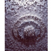 Dettaglio di Elaboratore Rosone n.07-  Legno a più spessori- Ø 200 cm- 1995 - Nave Sun Princess P&O