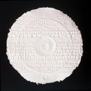 Resinografia n.6 - Il Sole Bianco - 50x50 cm - 2010