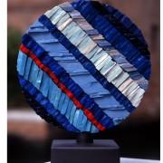 Sole n.1, Lato B- Mosaico di smalto vetroso- ⌀ 30 cm- 1998