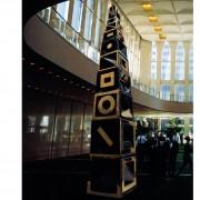 Torre di Babele - Bronzo, fusione a cera persa - h 400 cm - 1997