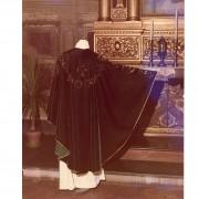 Velluto Pirografato per Papa Paolo VI- 1967