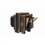 Il toro dalle corna d'oro- Bronzo, fusione a cera persa- h 55x62x85 cm- 2008