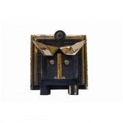 Il toro dalle corna d'oro-Bronzo, fusione a cera persa- h 55x62x85 cm- 2008