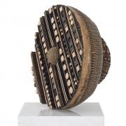 Basket - Bronze, lost wax casting - ø 24 in - 2013