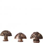 Little mushrooms - Detail from Mushroom Bed
