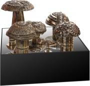 Mushroom Bed - Bronzo, lost wax casting - 2017