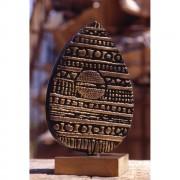 Half Egg (2) - Bronze, lost wax casting - h 13 x ø 8 in - 1997