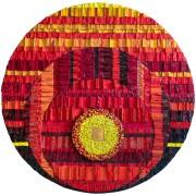 Sun Rose-window - Enamel vitreous mosaic - ⌀ 47,3 in - 2020