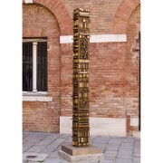 Tower n.2 - Bronze, lost wax casting - h 108,3 in - 2005