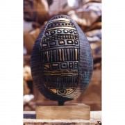 Egg (4) - Bronze, lost wax casting - h 18 x ø 12 in - 1997