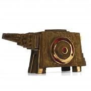 Cavallo n.4- Bronzo, fusione a cera persa- h 18x36x15 cm- 2008